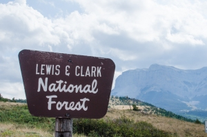 Bennie Hill is in the Lewis & Clarke National Forest